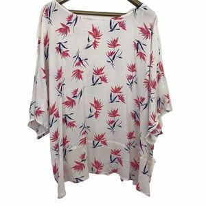 In Every Story Extended Sleeve Floral Blouse